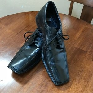 Nunn Bush Square Toe Dress Shoe